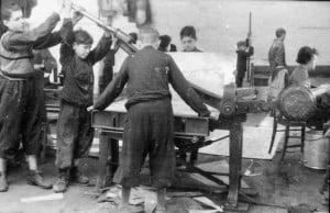 Jewish ghetto in Poland