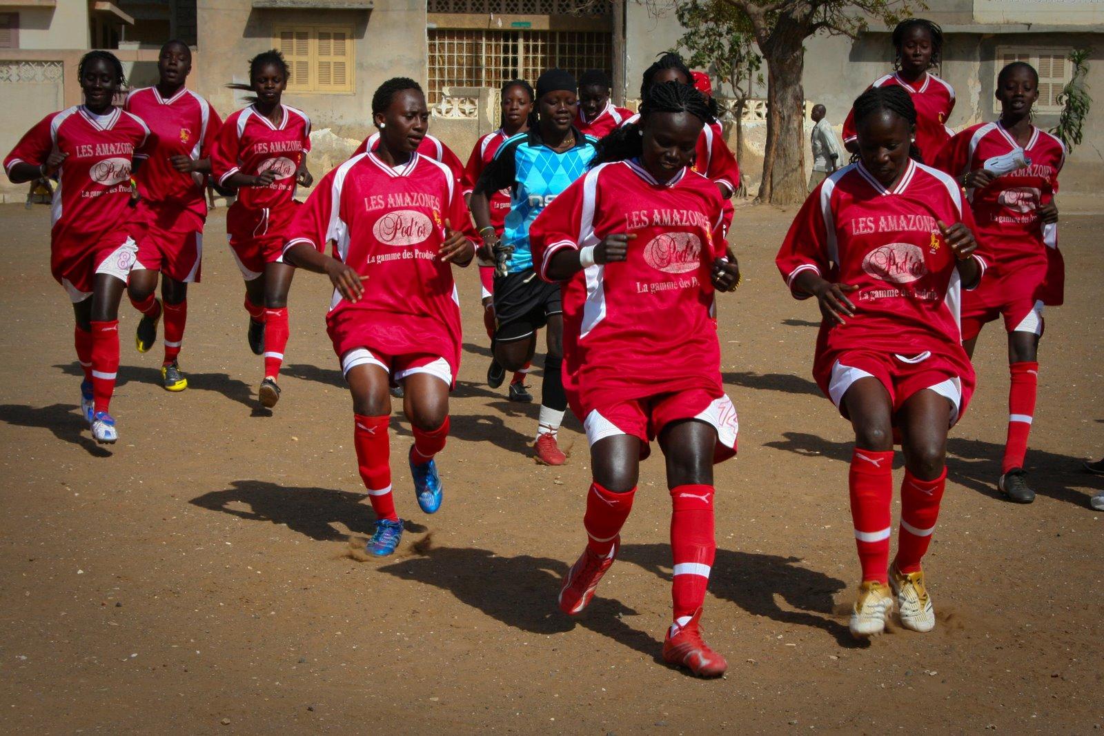 Women's Senegalese soccer team