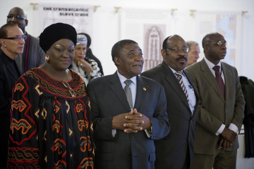 UN slavery exhibition