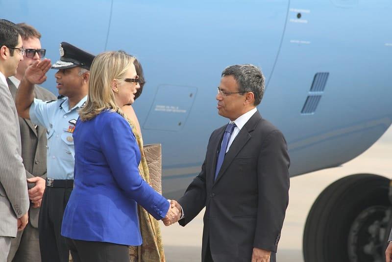 Hillary Clinton India visit