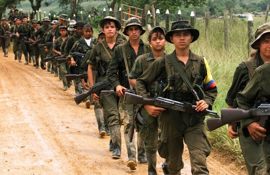 Farc child soldiers