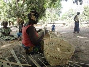 Casamance weavers.