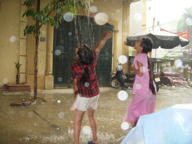 Girls with AIDS in Vietnam