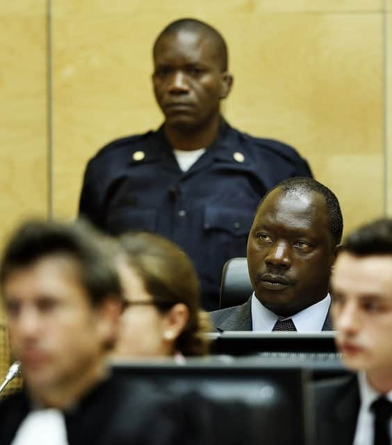 Thomas Lubanga was sentenced to 14 years of imprisonment.