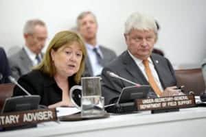 Susana Malcorra of the UN