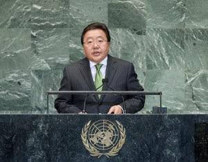 Elbegdorj Tsakhia, President of Mongolia