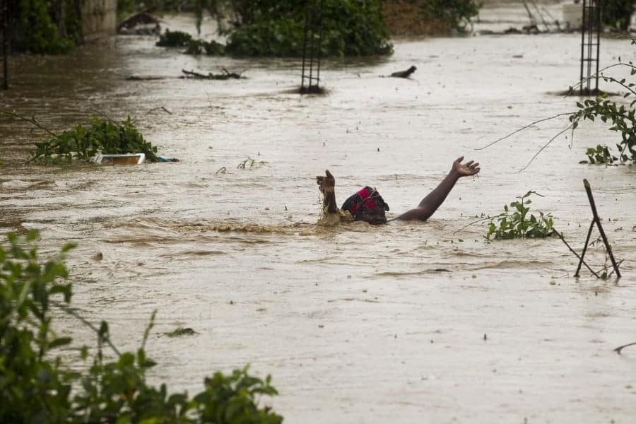 Tropical Storm Isaac hits Haiti
