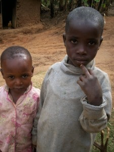 Congolese children born of raped mothers in East Kivu.