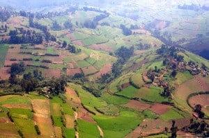 Masisi highlands in North Kivu