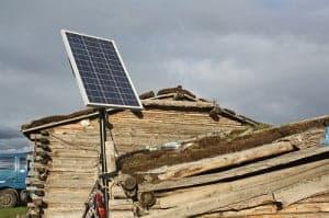 Mongolia solar power