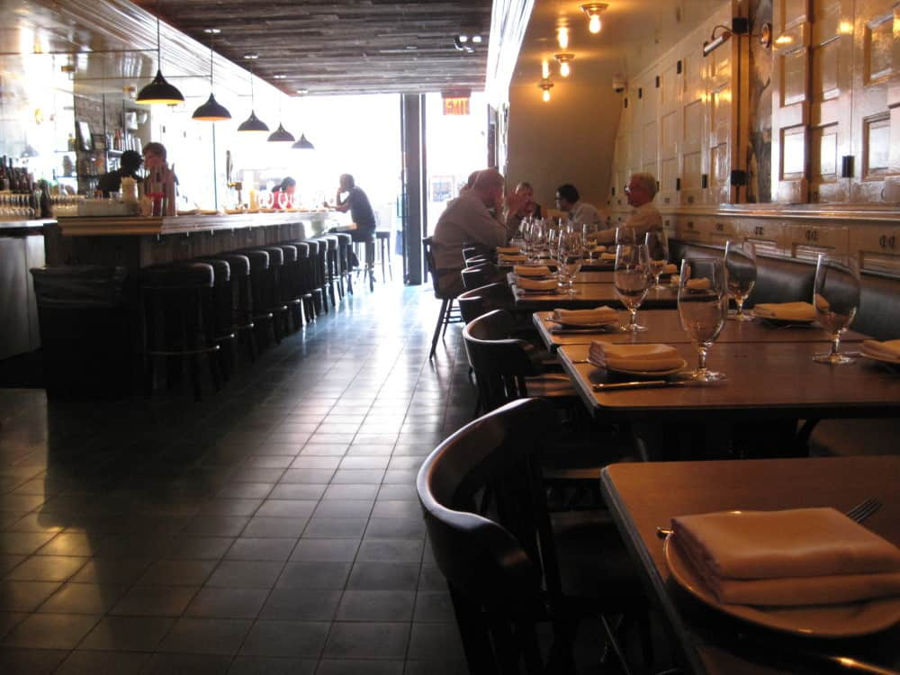 Socarrat restaurant's interior Midtown