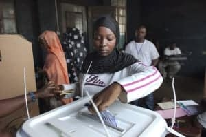 In Sierra Leone, voting took place on Nov. 17, 2012, to elect a president.