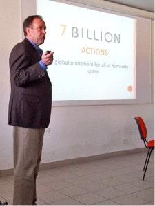 Neil Ford of UNESCO, describing a campaign he designed for UNFPA.