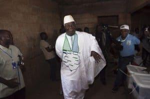 Ernest Bai Koroma, re-elected president of Sierra Leone