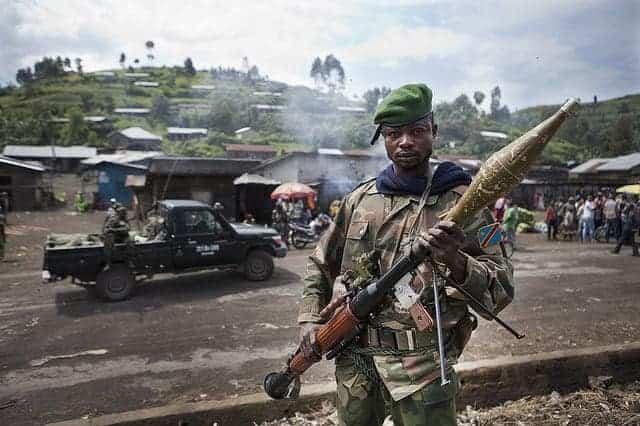 Monusco, UN peacekeepers in Congo