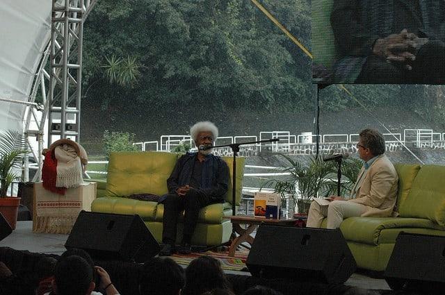 """Wole Soyinka, author of """"Of Africa"""""""