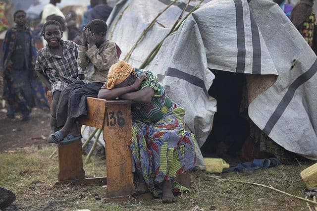 Internally displaced people in Congo