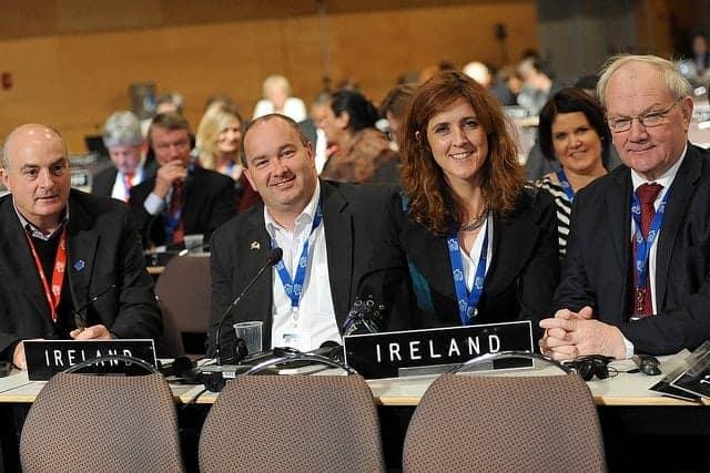 Ireland's representatives at IPU Main Assembly meeting 2012