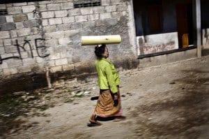 Timor Leste woman