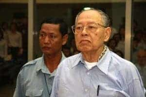 Ieng Sary of the Khmer Rouge