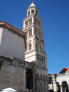 Cathedral of St. Duje in Split, Croatia