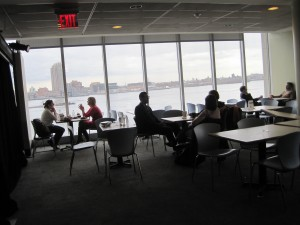 UN main cafeteria in New York.