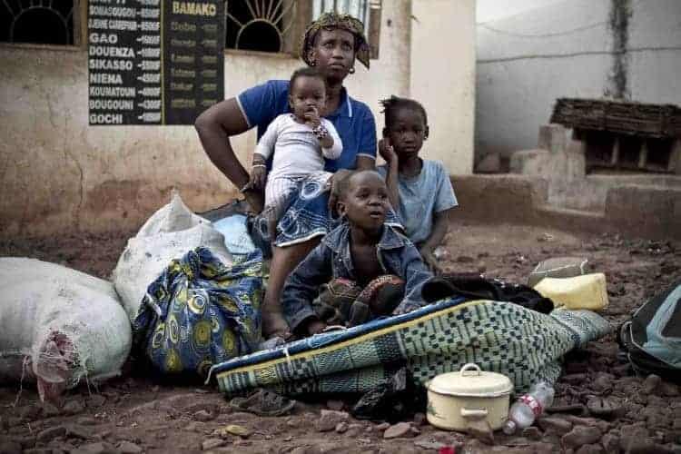 Displaced Malians