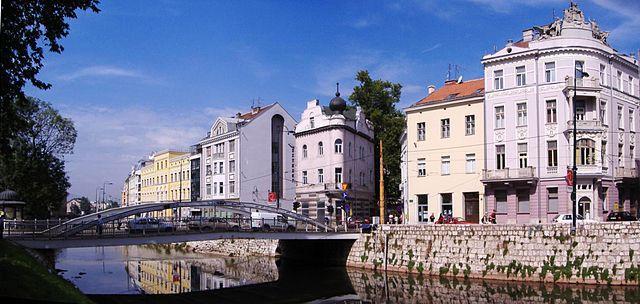 Ćumurija Bridge, Sarajevo