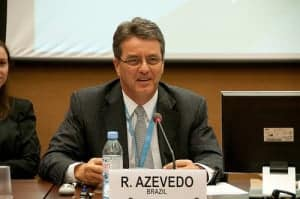 Roberto Azevedo of Brazil