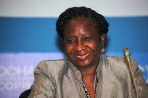 Alcinda Abreu, environment minister of Mozambique
