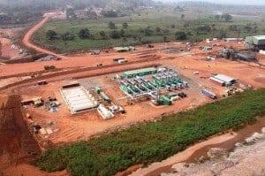 London Mining plant in Sierra Leone