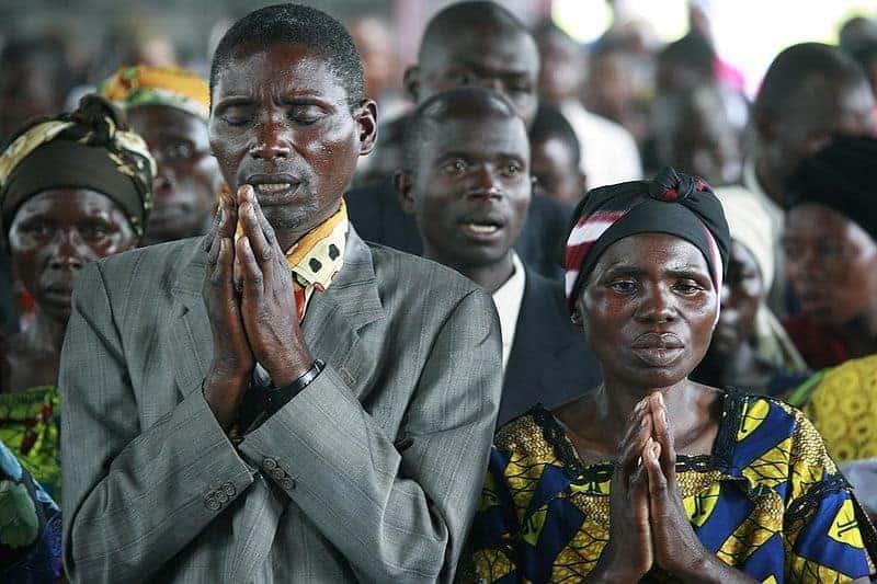 Prayers in Congo