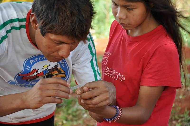 PAHO antimalaria campaign, Paraguay