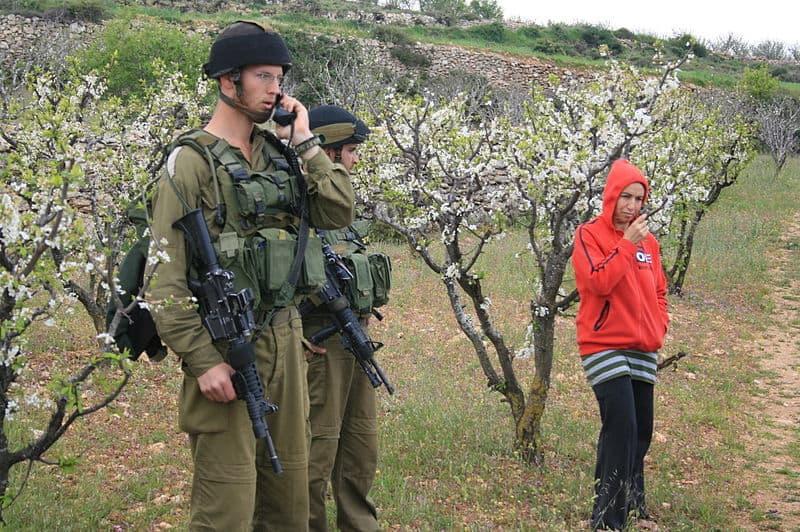 Demonstration against land confiscation, Beit Ummar