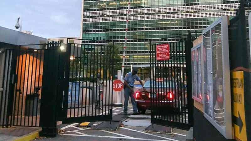 UN entryway