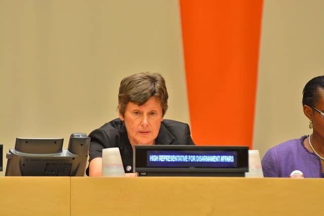 Angela Kane, UN high representative for disarmament affairs
