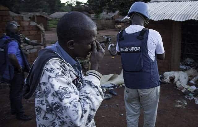 Central African Republic village 2013