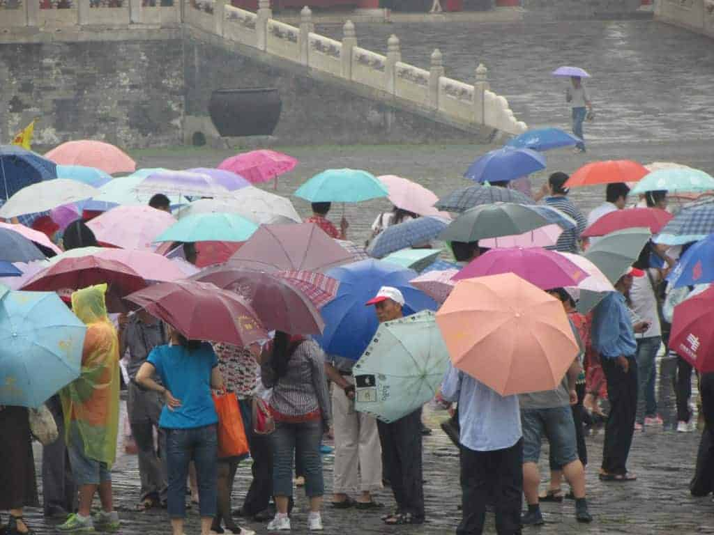 Umbrellas in China