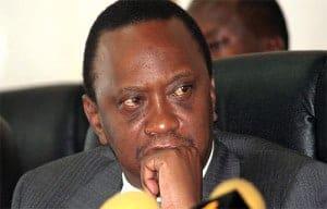 Kenyatta, president of Kenya