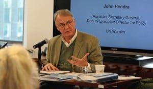 John Hendra, UN Women