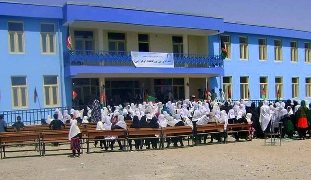 New school in Helmand Province in Afghanistan