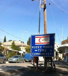Ledra Palas crossing - Turkish side