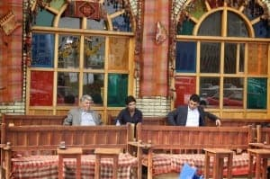 Cafe in Erbil, Iraq