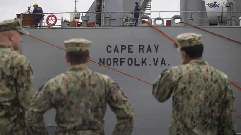The Cape Ray, a United States naval ship, has been readied to destroy some of the chemical weapons removed from Syria.