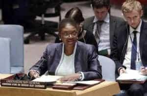 Valerie Amos, UN humanitarian aid chief