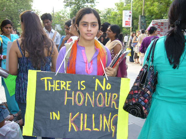 Honor killings ttkt. Here, women in New Delhi raise their voices against the deadly practice.