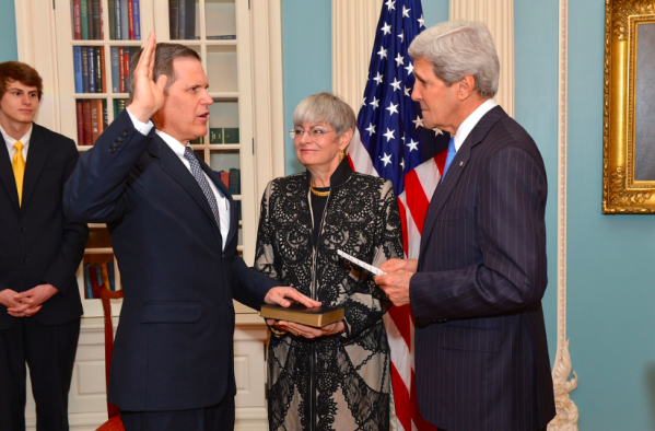US Secretary of State John Kerry with tktkt