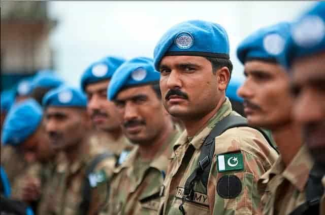 Pakistani peacekeepers arrive in the Central African Republic.