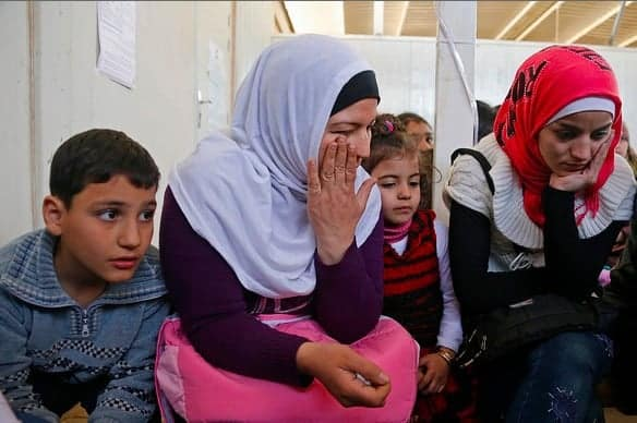 Refugees from Aleppo, Syria, describe their escape. Sweden tktkt MOHAMED AZAKIR/WORLD BANK
