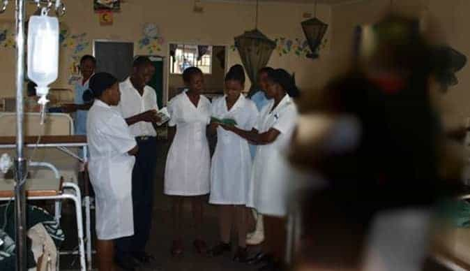 Midwives in Zimabwe